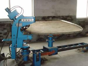 Oval Tank Head Flanging Machine
